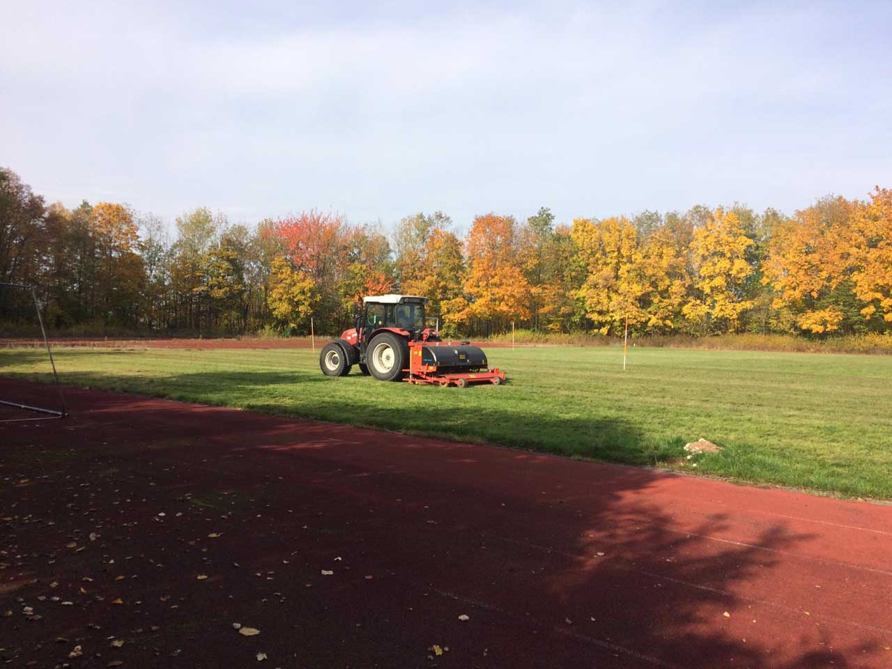 IFA Preparing main football pitch
