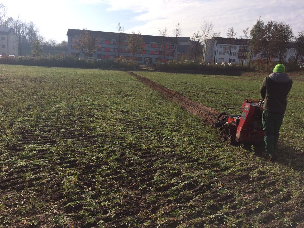 IFA Development of second football pitch