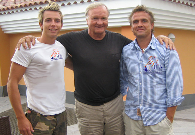 Ron Atkinson bei IFA Germany